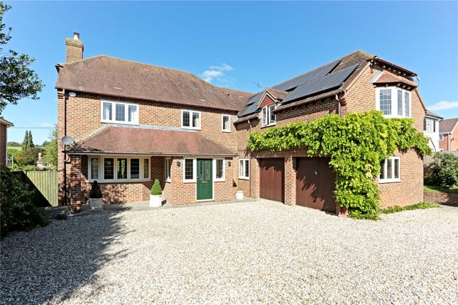4 bed detached house for sale in Main Road, Cherhill, Calne, Wiltshire
