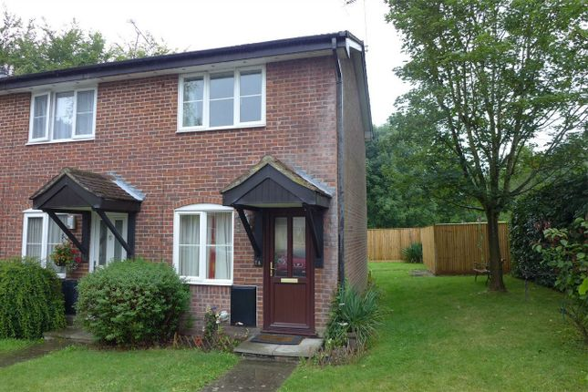 Thumbnail End terrace house to rent in Nightingale Close, Farnborough