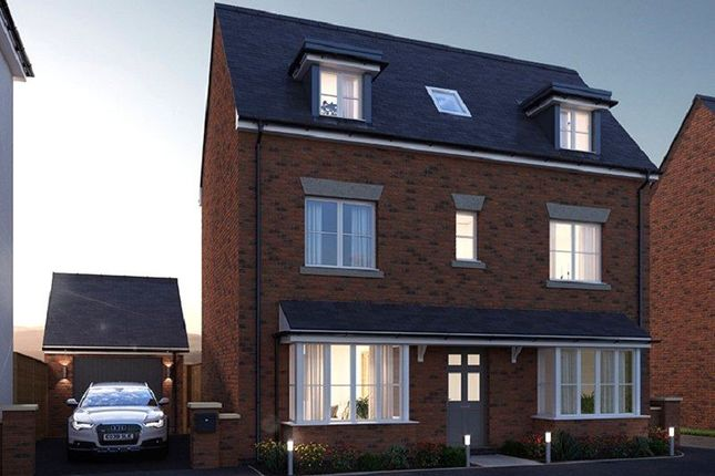 Thumbnail Detached house for sale in Plot 4, The Davies, Meadow Bank, Llandarcy, Neath, Neath Port Talbot.