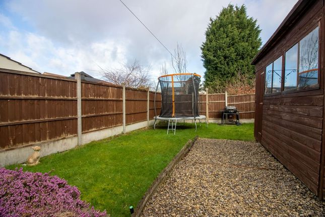 Garden At Back of Hemlock Avenue, Long Eaton, Nottingham NG10
