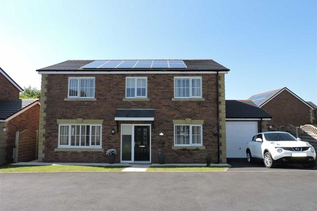 Thumbnail Detached house for sale in Llys Anron, Cross Hands, Llanelli