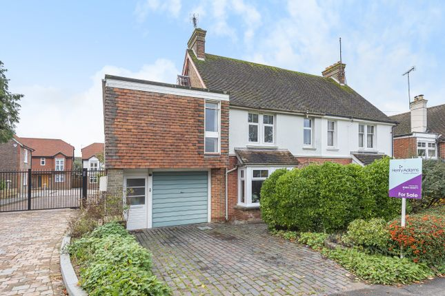 Thumbnail Semi-detached house for sale in Brighton Road, Horsham