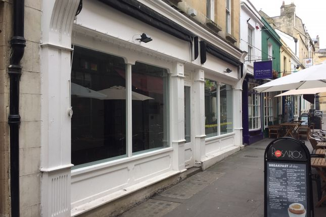 Thumbnail Retail premises to let in 3-4 Northumberland Place, Bath, Somerset