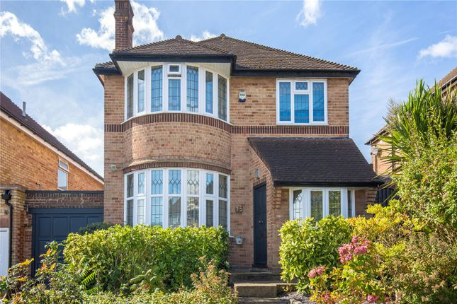 Thumbnail Detached house for sale in Southover, Woodside Park, London