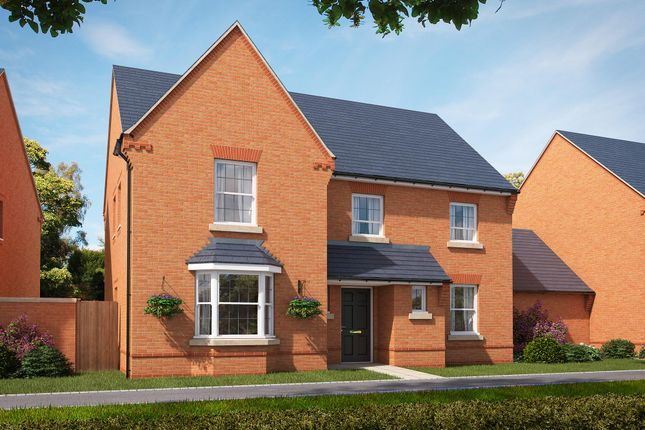 "Thumbnail Detached house for sale in ""Manning"" at Stockton Road, Long Itchington, Southam"