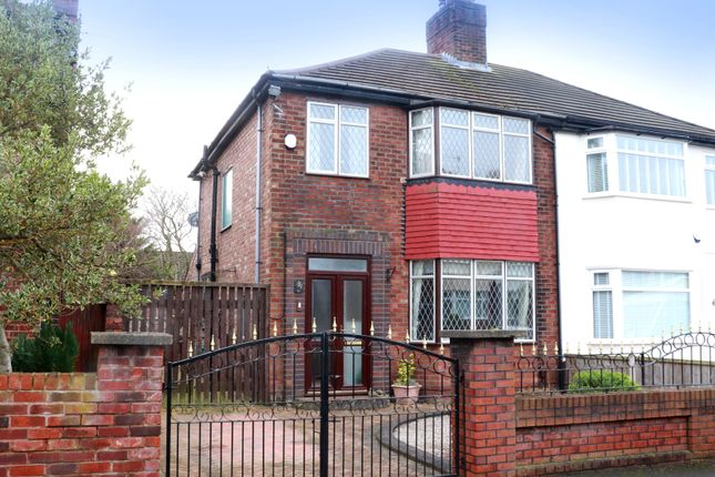 Thumbnail Semi-detached house for sale in Norwood Avenue, Litherland, Liverpool