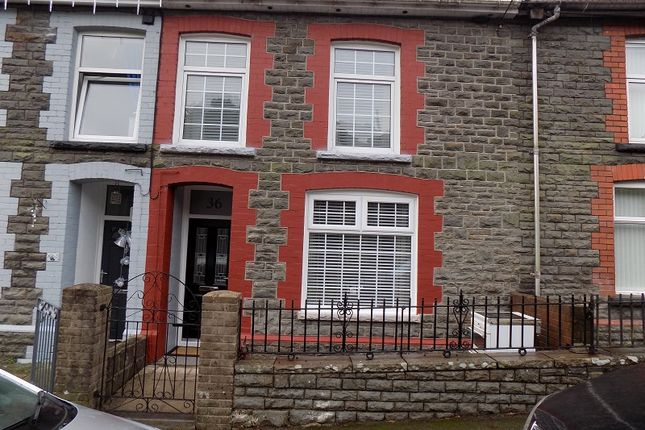 Thumbnail Terraced house for sale in Tyntyla Avenue, Ystrad, Pentre, Rhondda Cynon Taff.