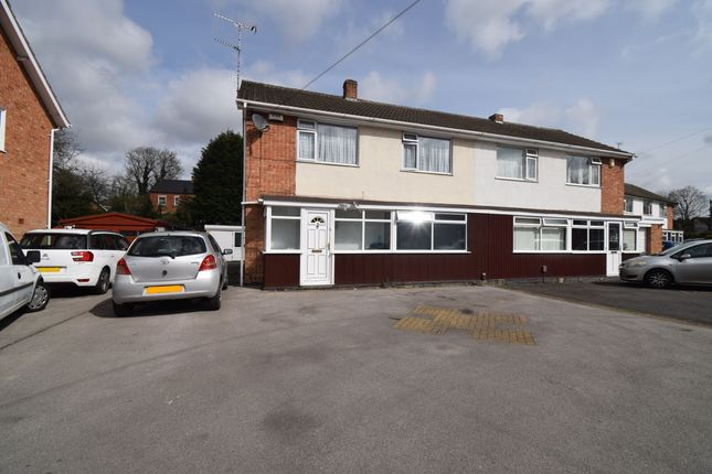 Thumbnail Semi-detached house for sale in The Morwoods, Oadby, Leicester