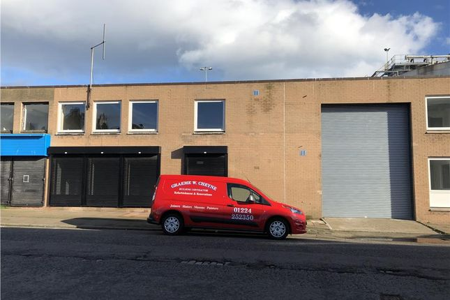 Thumbnail Light industrial to let in Unit 2, Commerce Street, Aberdeen