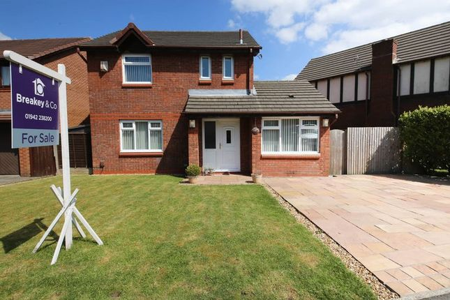 Thumbnail Detached house for sale in Navenby Road, Hawkley Hall, Wigan