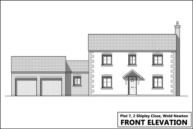 Thumbnail Detached house for sale in Plot 6, Laking Lane, Wold Newton, Driffield