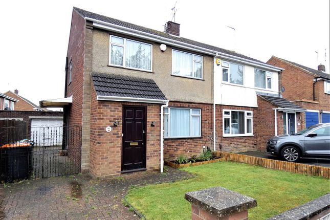 Thumbnail Semi-detached house to rent in Katherine Drive, Dunstable