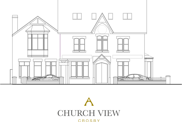 Thumbnail Flat for sale in Liverpool Road, Crosby