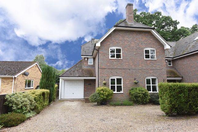 Thumbnail Detached house for sale in Bishopswood Lane, Baughurst, Tadley