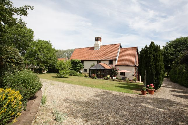 Thumbnail Farmhouse for sale in The Street, Ringland, Norwich