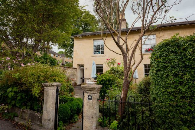 Thumbnail Terraced house to rent in Worcester Villas, Bath