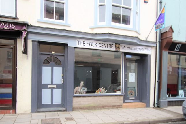 Thumbnail Retail premises to let in Chalybeate Street, Aberystwyth