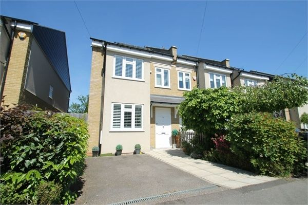 Thumbnail End terrace house for sale in Highfield Road, London