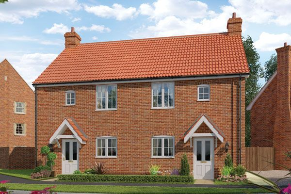 Thumbnail Semi-detached house for sale in Station Road, Framlingham, Suffolk