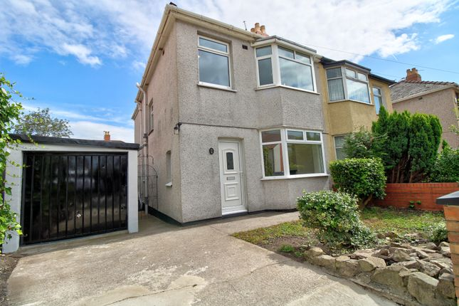 Thumbnail Semi-detached house for sale in Hathaway Street, Newport