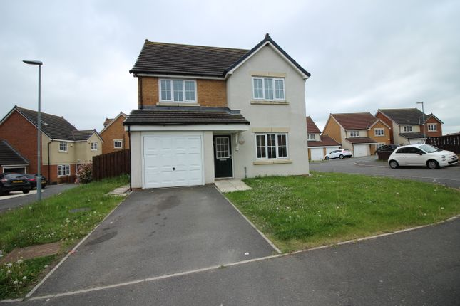 Thumbnail Detached house to rent in Weavers Croft, Crook