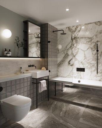 Bathroom of No.3, Upper Riverside, Cutter Lane, Greenwich Peninsula SE10