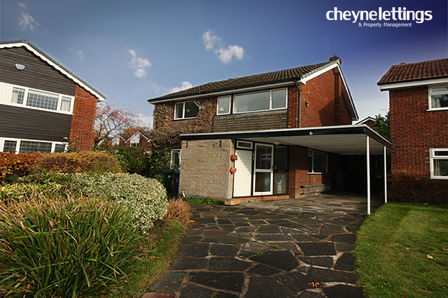 Thumbnail Detached house to rent in Aintree Close, Hazel Grove