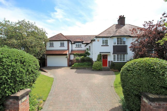 Thumbnail Semi-detached house for sale in Chester Avenue, Hale, Altrincham