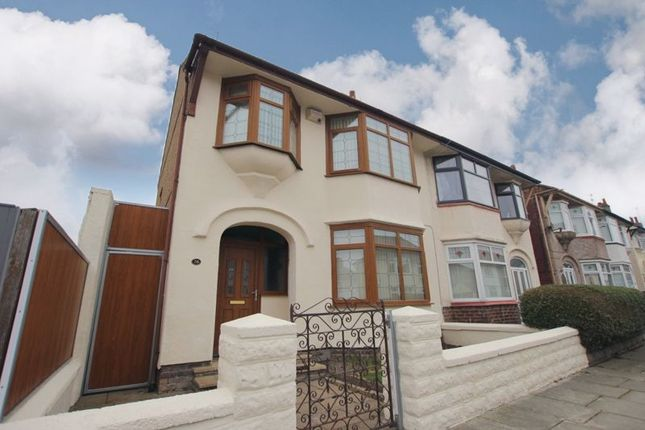 3 bed semi-detached house for sale in Dawlish Road, Wallasey, Wirral CH44