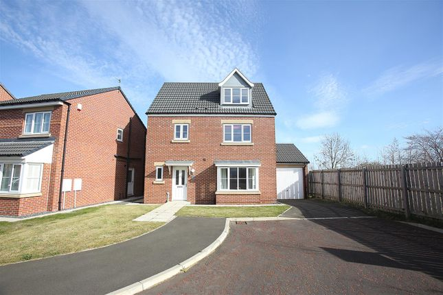 Thumbnail Detached house for sale in Starsley Place, Seaton Delaval, Whitley Bay