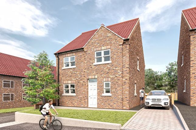 Thumbnail Detached house for sale in Vicars Walk, Crowle, Scunthorpe