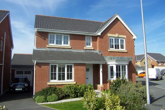 Thumbnail Detached house for sale in Maes Y Wawr, Birchgrove, Swansea