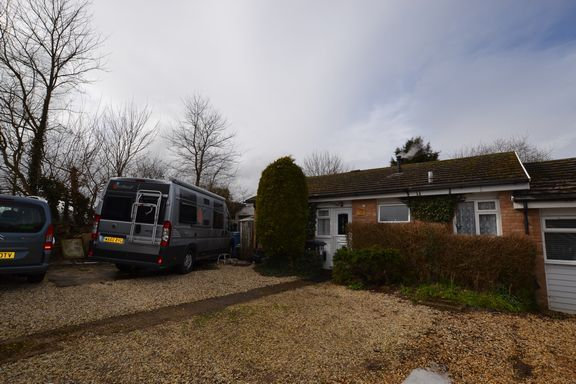 Thumbnail Bungalow for sale in Ashley Close, Crondall, Farnham