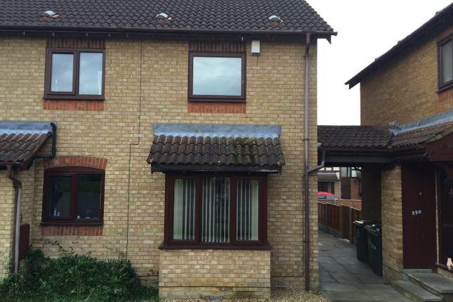 Thumbnail Flat to rent in Cookson Close, Peterborough
