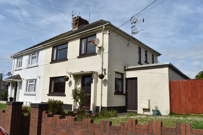 Semi-detached house for sale in Priory Street, Kidwelly, Carmarthenshire
