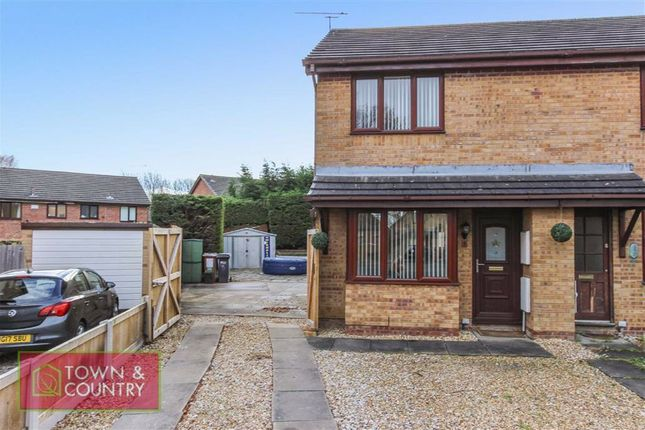 2 bed semi-detached house for sale in Caldbeck Crescent, Connah's Quay, Deeside, Flintshire CH5
