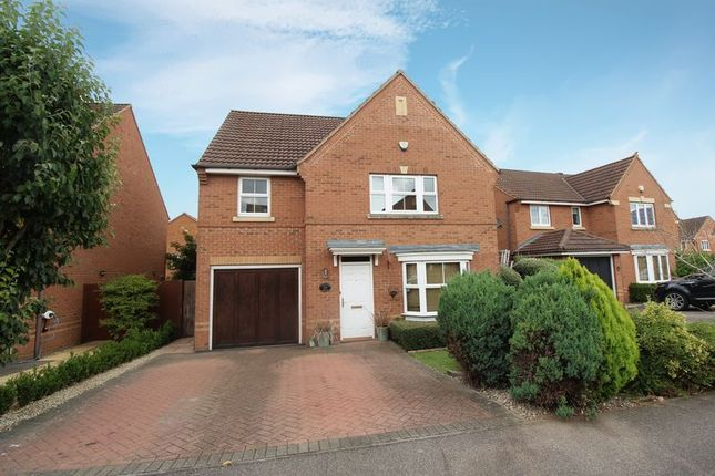 Thumbnail Detached house for sale in Sandleford Drive, Elstow, Bedford