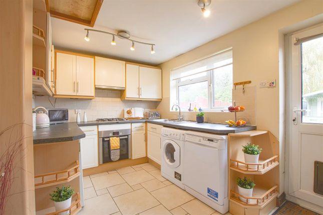 Kitchen With Door Into Garden
