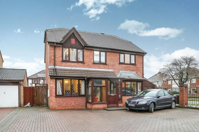 Thumbnail Detached house for sale in Oxford Drive, Birmingham, West Midlands