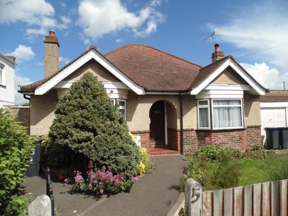 Thumbnail Bungalow for sale in Livesay Crescent, Worthing, West Sussex