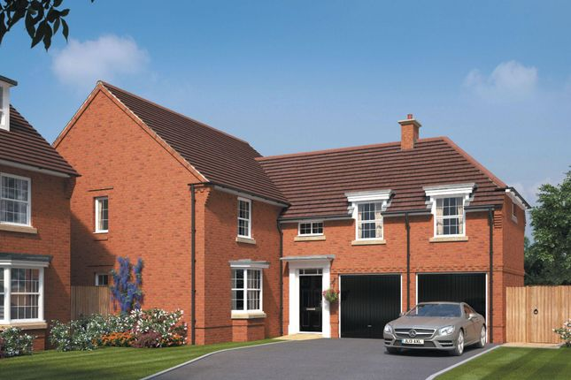 "Thumbnail Detached house for sale in ""Oulton"" at Wellfield Way, Whitchurch"