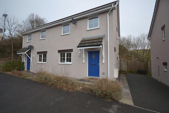 Thumbnail Semi-detached house to rent in Troed Yr Allt, Alltwalis, Carmarthen