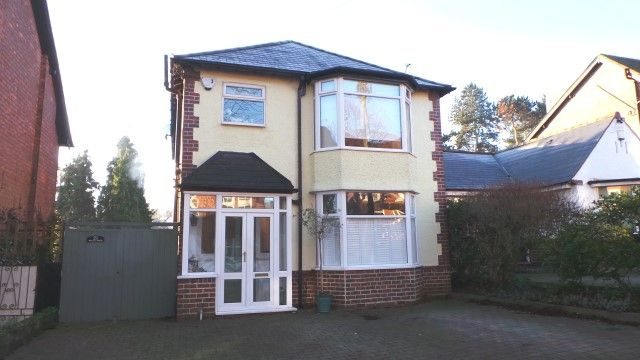Thumbnail Detached house for sale in While Road, Sutton Coldfield, West Midlands