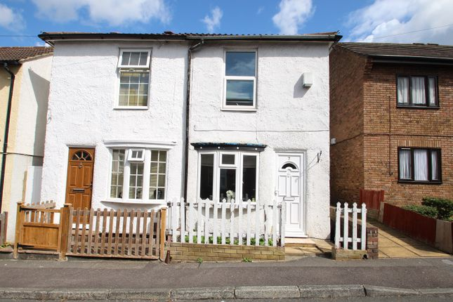 Thumbnail End terrace house to rent in Albert Road, St Mary Cray, Orpington