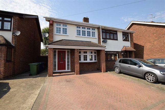 Thumbnail Semi-detached house for sale in Russet Close, Stanford Le Hope, Essex