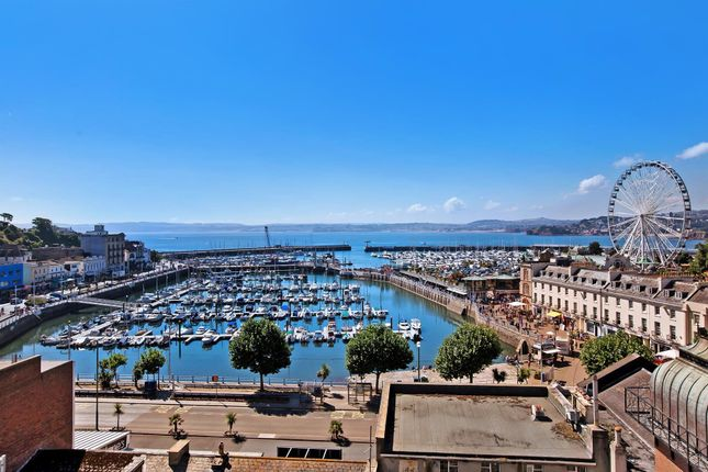 Thumbnail Flat for sale in The Terrace, Torquay