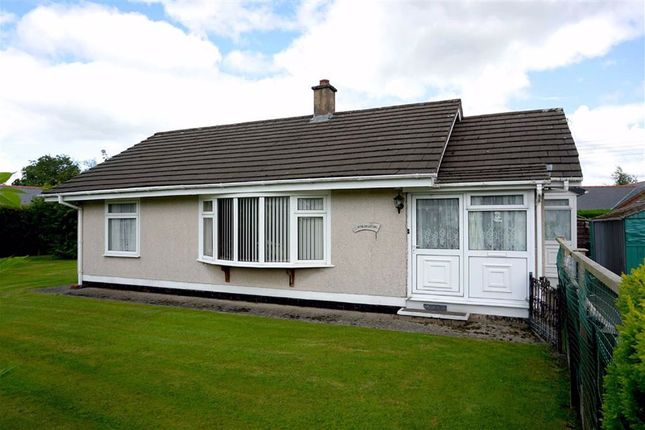 Thumbnail Detached bungalow for sale in Trefeglwys, Caersws