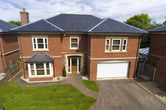 Thumbnail Detached house for sale in Whitehouse Lane, Bomere Heath, Shrewsbury