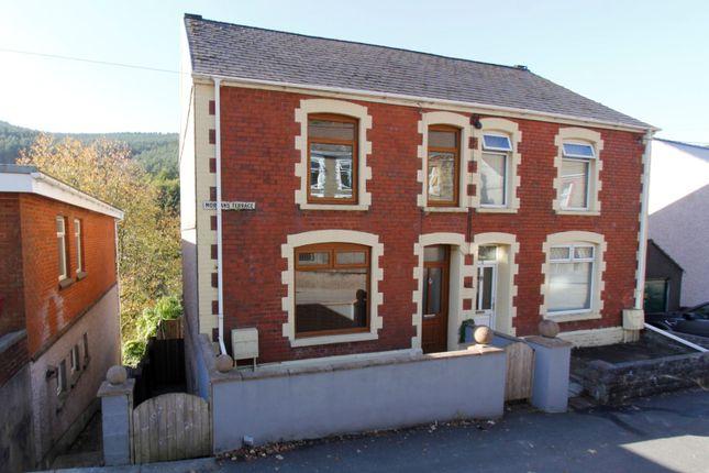 Thumbnail Semi-detached house for sale in Morgans Terrace, Pontrhydyfen