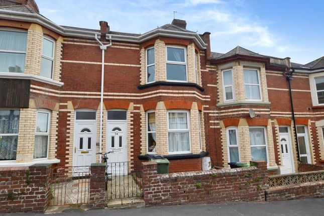 Thumbnail Terraced house for sale in Manston Road, Mount Pleasant, Exeter